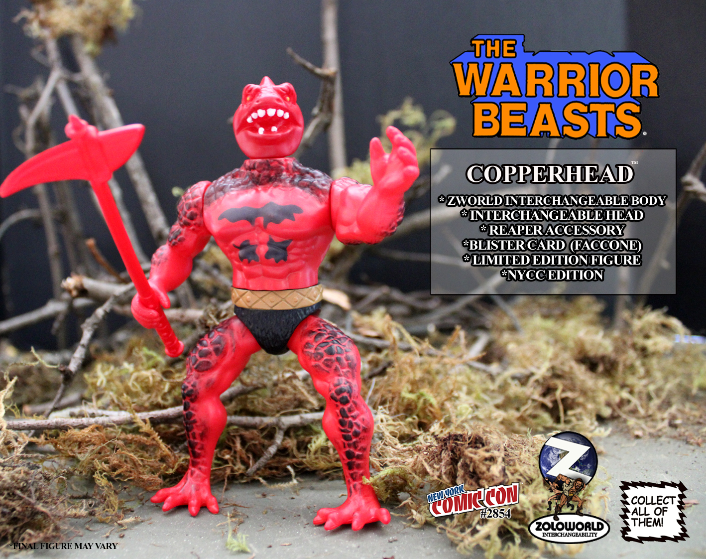 The Warrior Beasts: COPPERHEAD by Zoloworld
