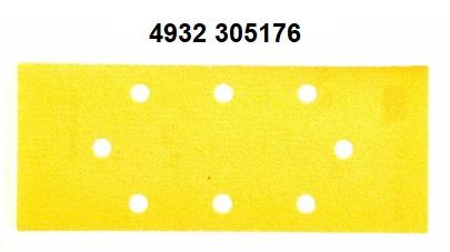 10PZ CARTA ABRASIVA 93X230 GR50