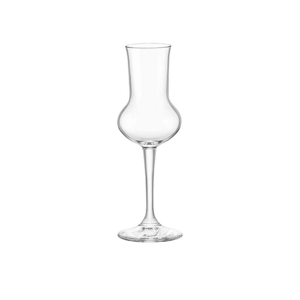 Bormioli Bicchiere Calice Grappa Restaur 3 pezzi