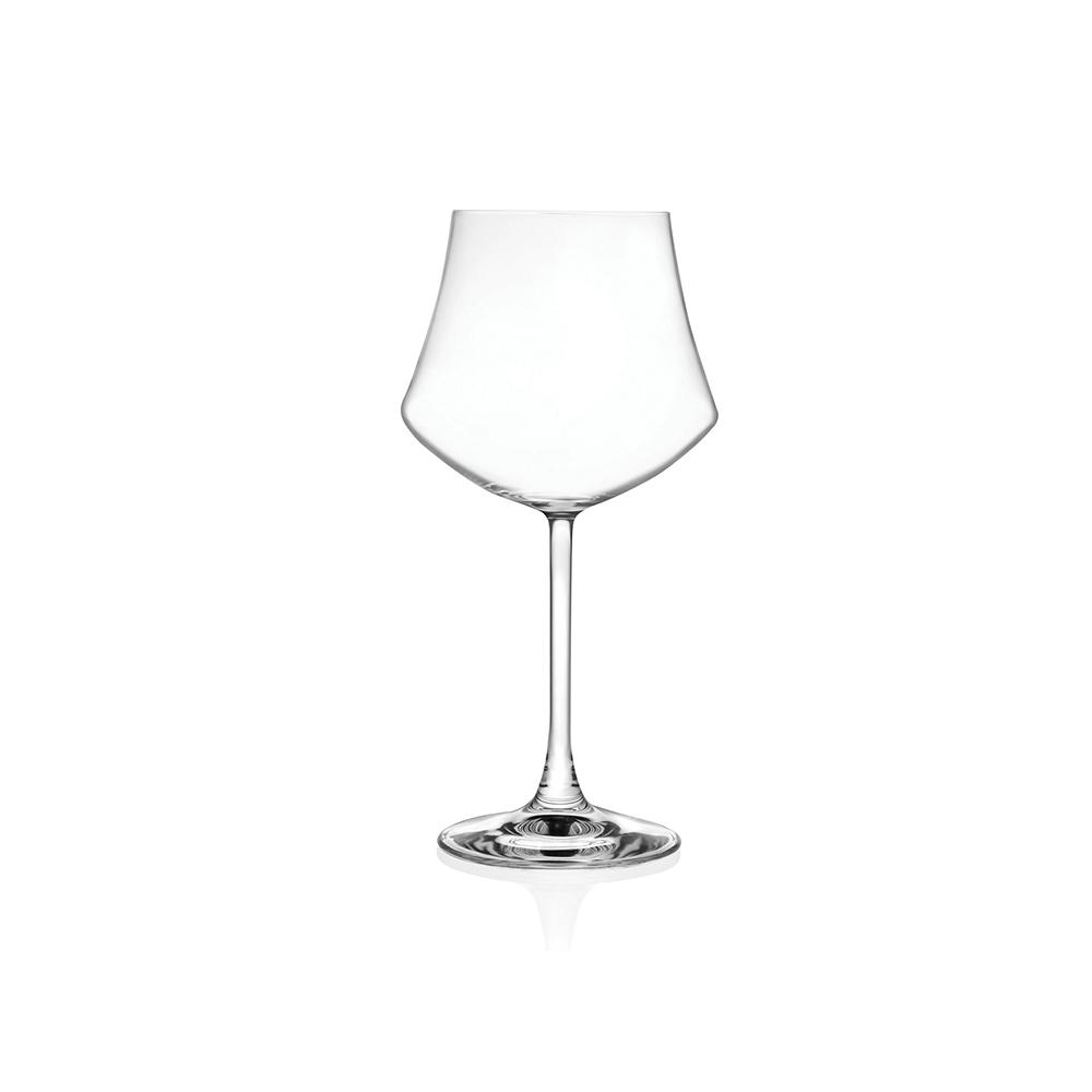 Rcr Bicchiere Calice Ego 6pezzi Altezza mm 210 in Vetro Trasparente, Bicchiere da Tavola resistente