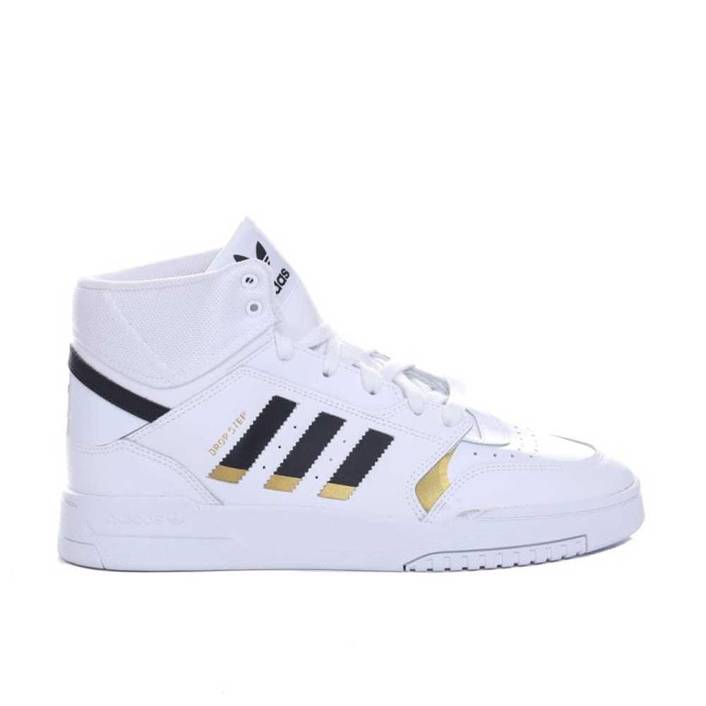 Adidas Drop Step White Black Gold da Uomo