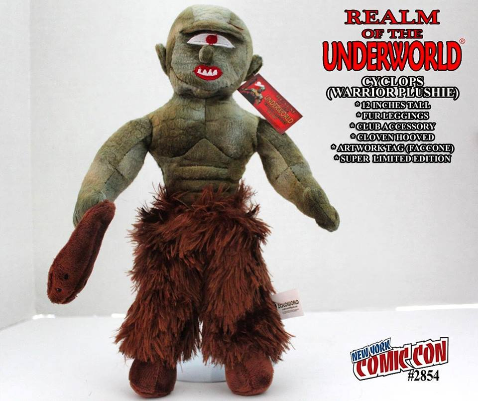 Realm of the Underworld: CYCLOPS WARRIOR PLUSHIE by Zoloworld