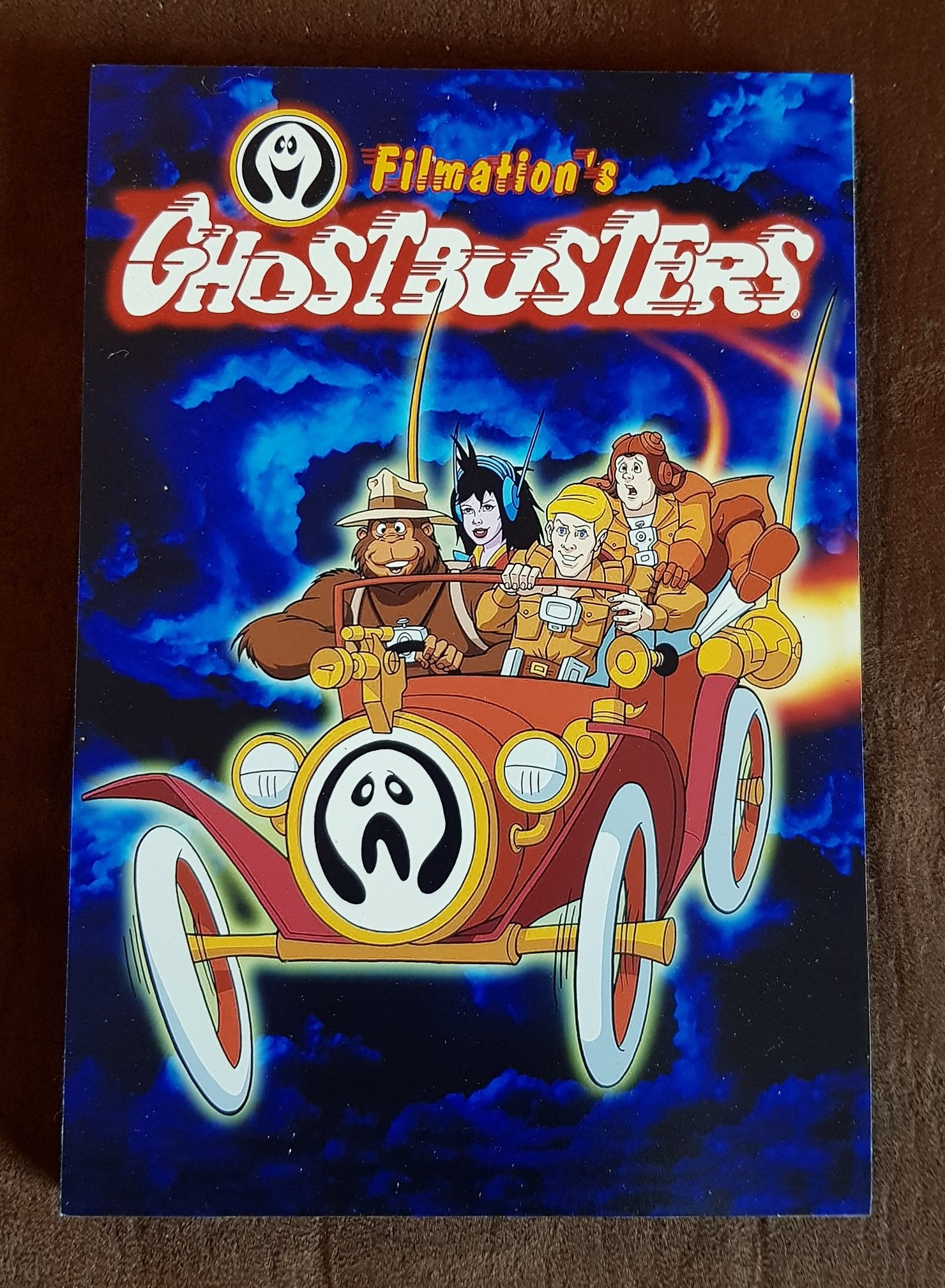 Quadretto in legno: Filmation's Ghostbusters (type 1)
