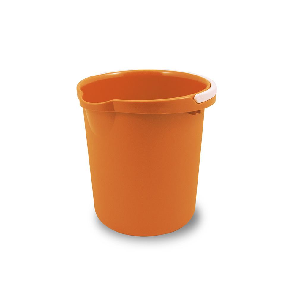 Belli E Forti Secchio Plastica Arancio 12Litri