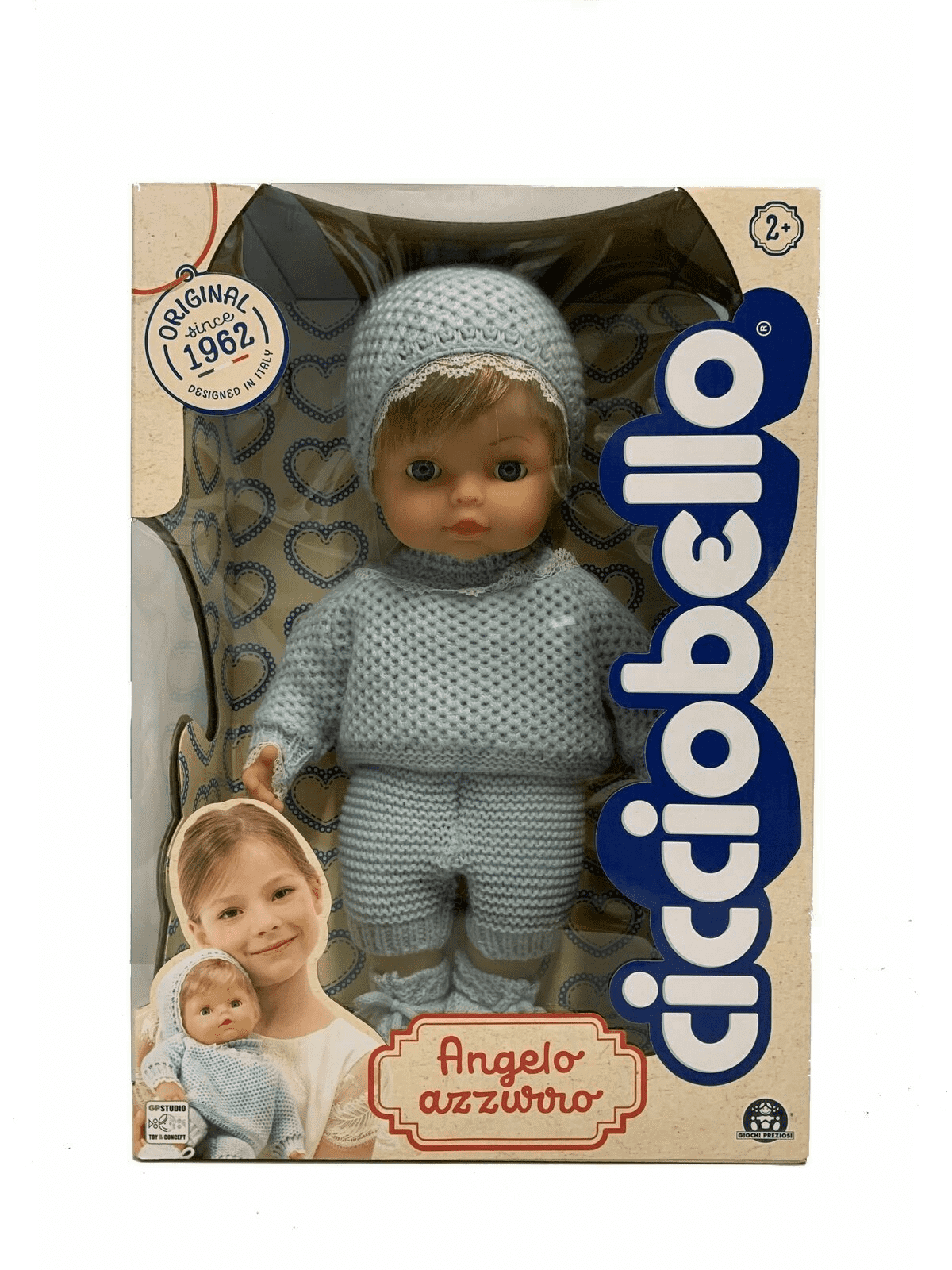 CCB44000 CICCIOBELLO ANGELOAZZURRO30 CM