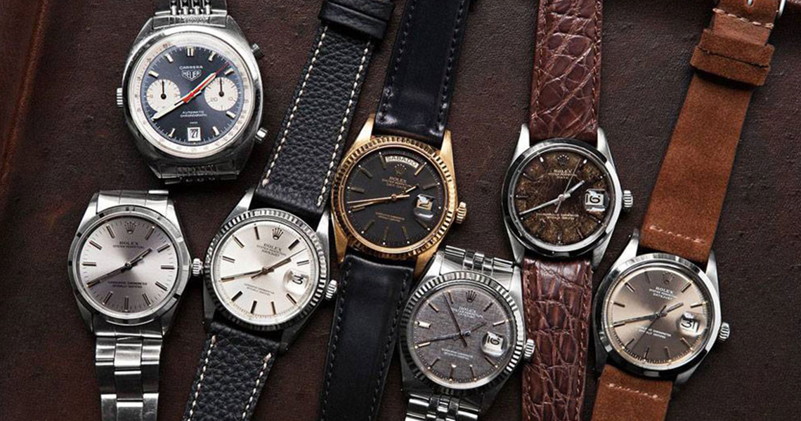 Vintage watches, a passion that has no age!