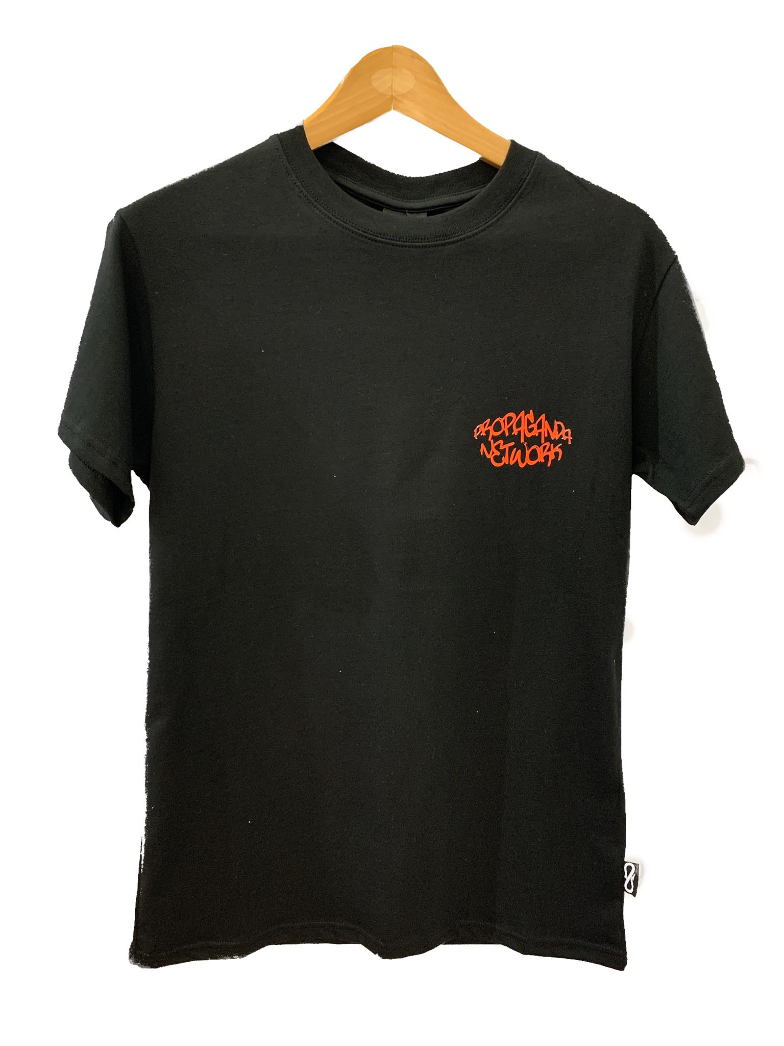 T-Shirt Propaganda Network Black