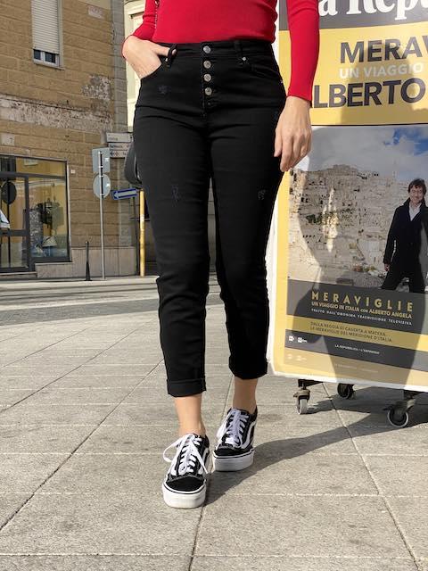Jeans Vicolo chiusura con Bottoni
