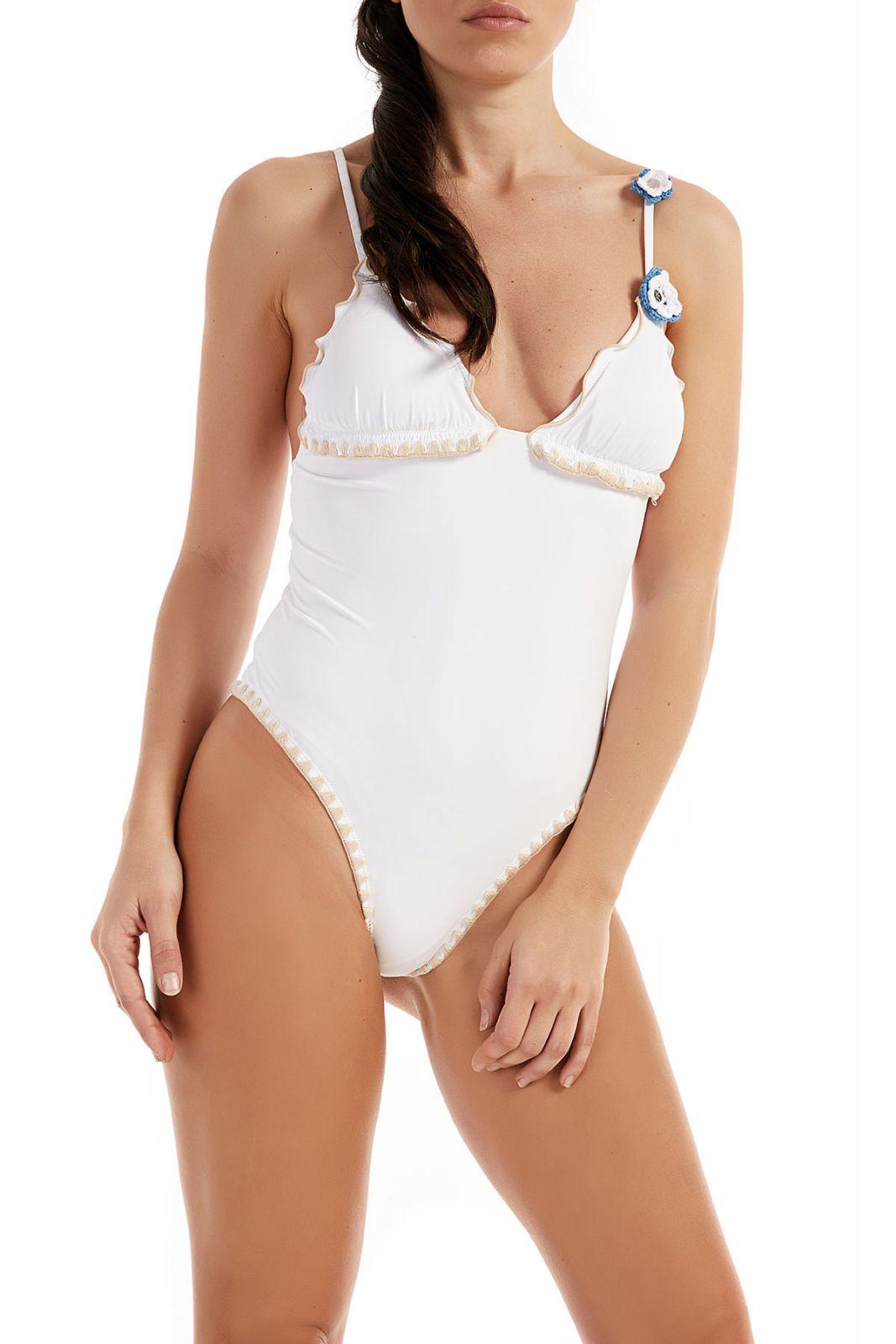 Costume F**K Monokini Bikini G316WH