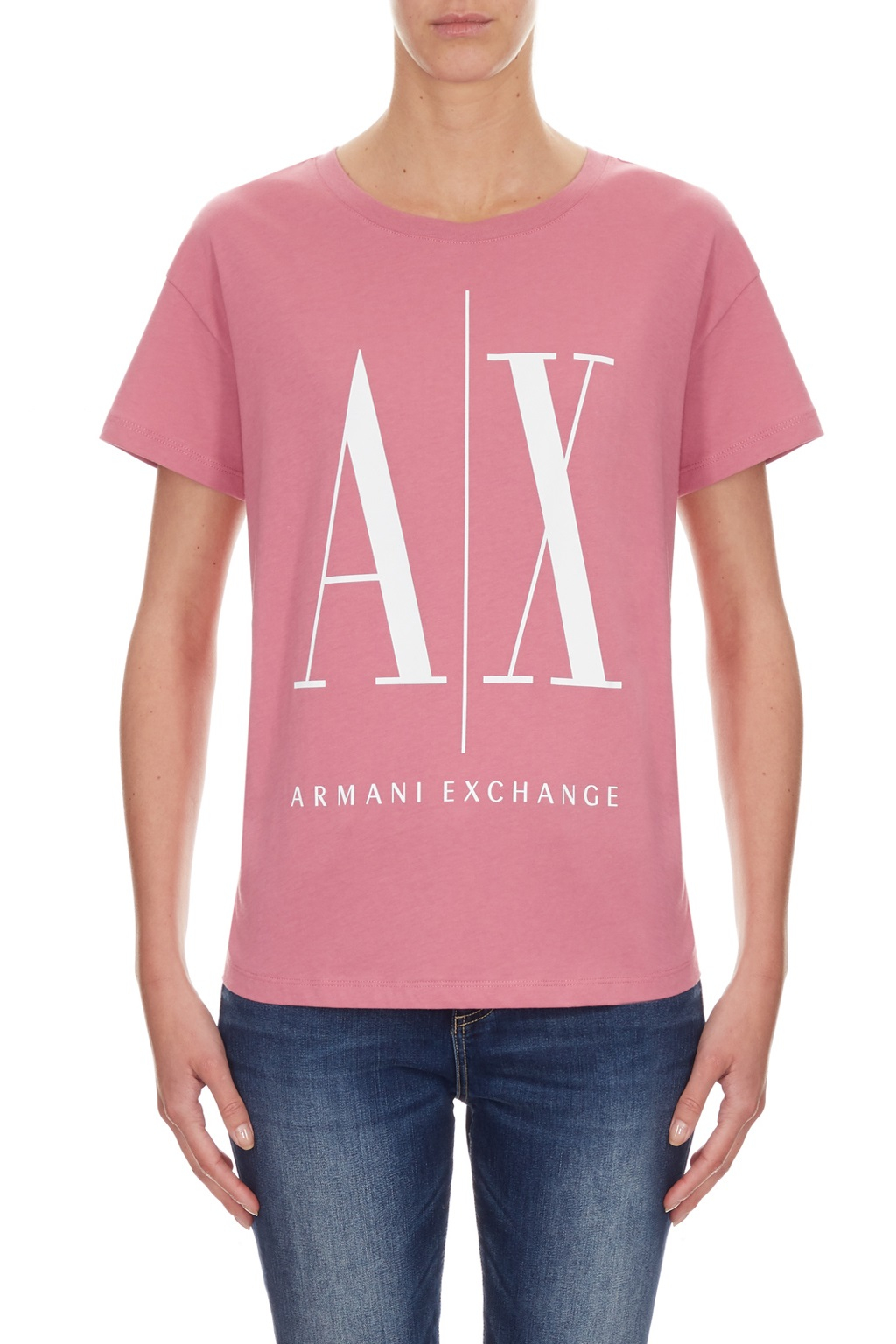 T-shirt manica corta donna ARMANI EXCHANGE icon A/X