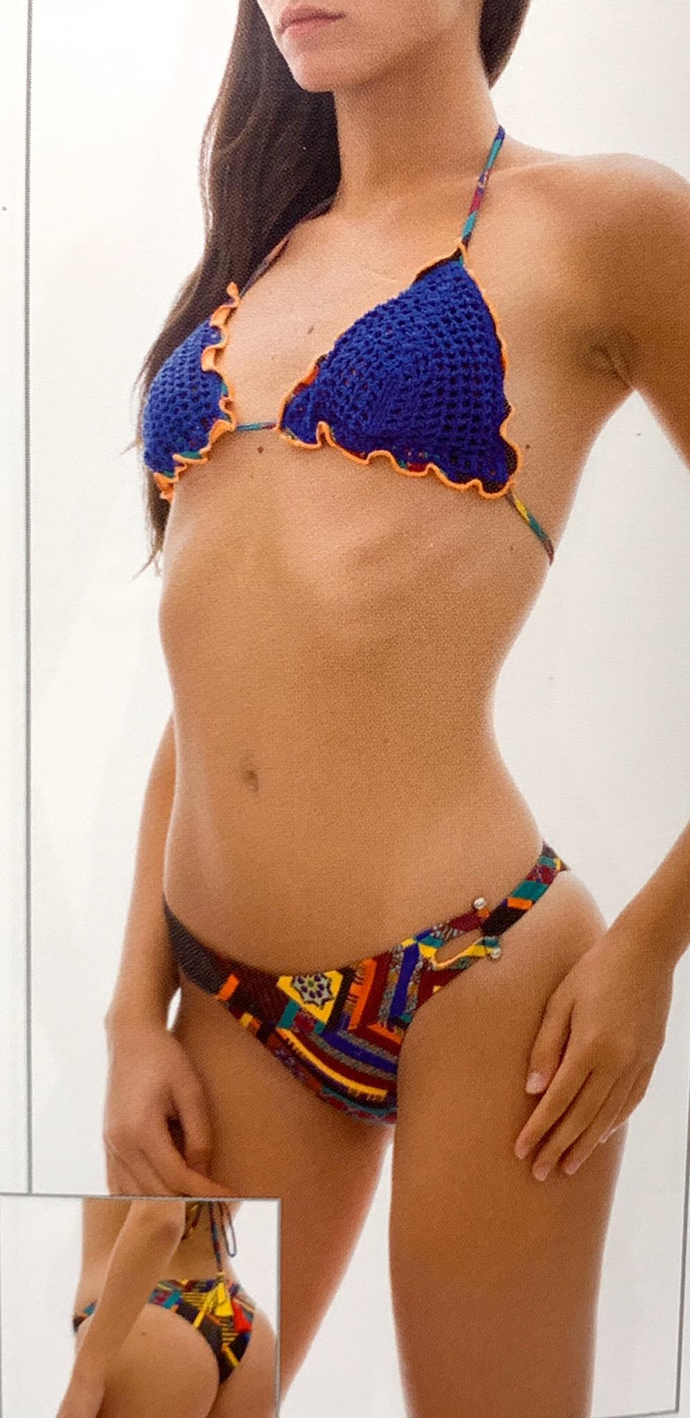 Costume F**K Triangle Bikini N438X1
