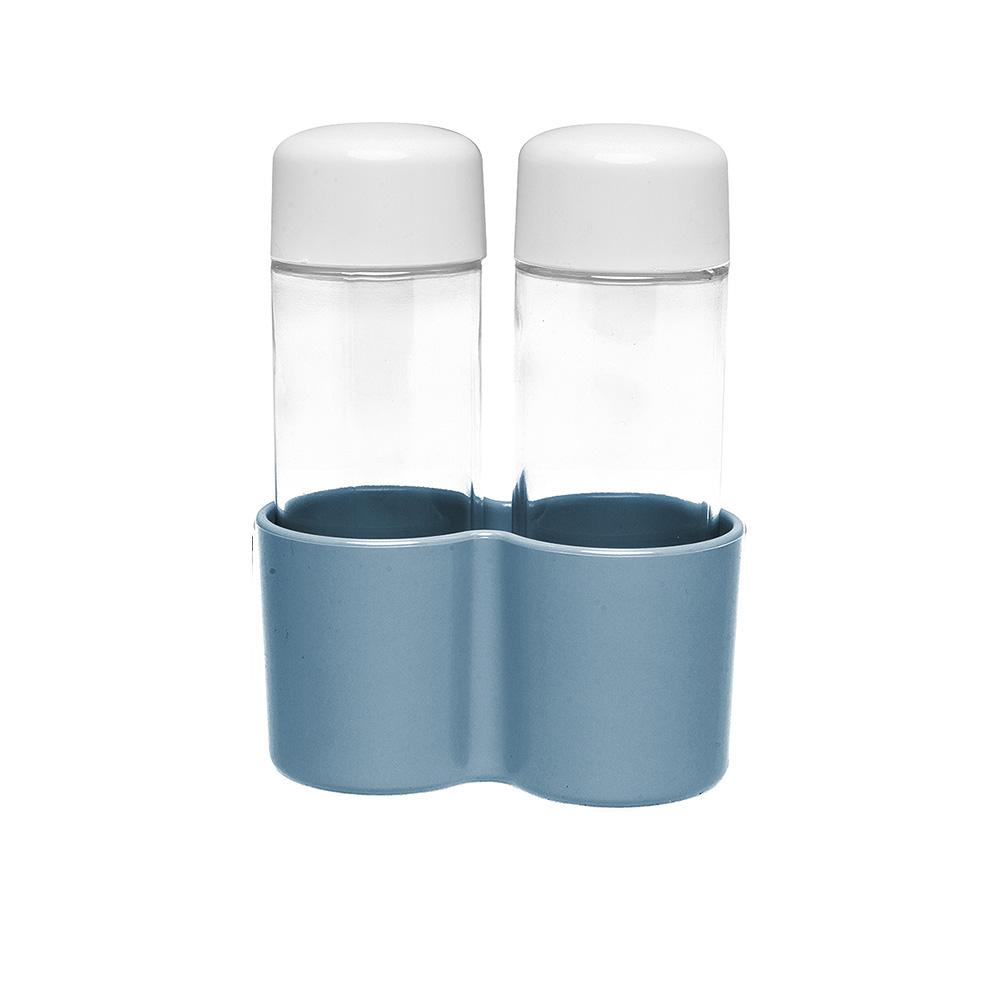 Omada Set Olio e Aceto Eat Pop Azzurro Polvere