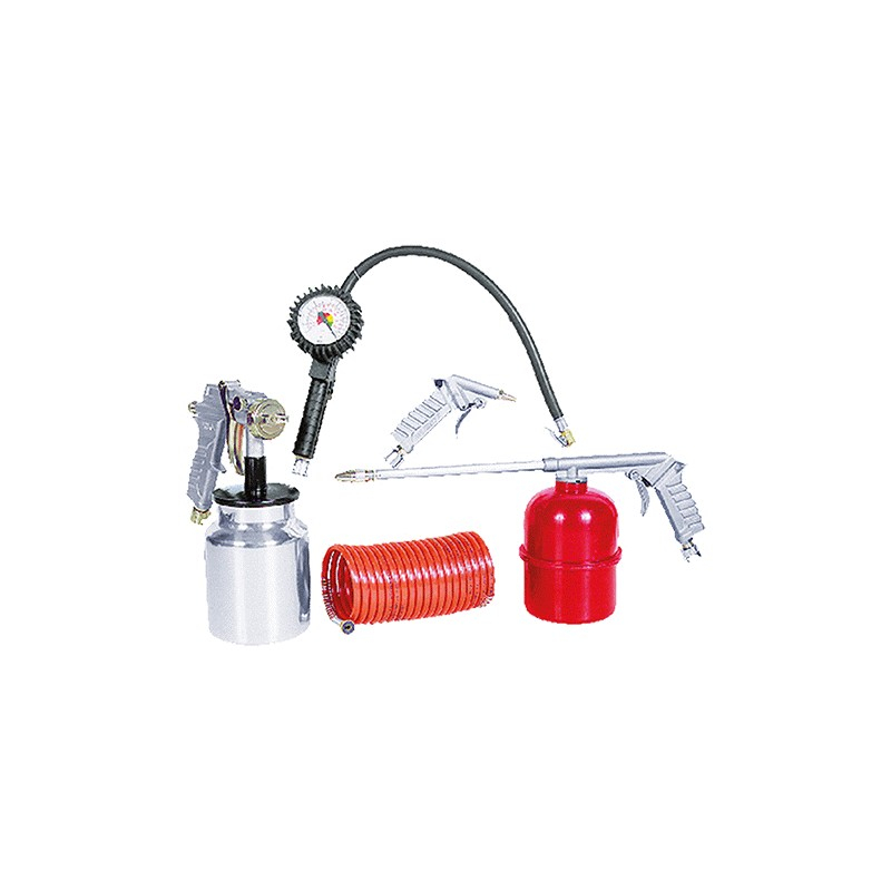 Powerx kit 5 accessori per compressore art.119300