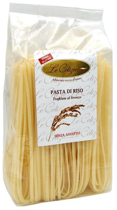 Spaghetti alla chitarra di riso senza glutine