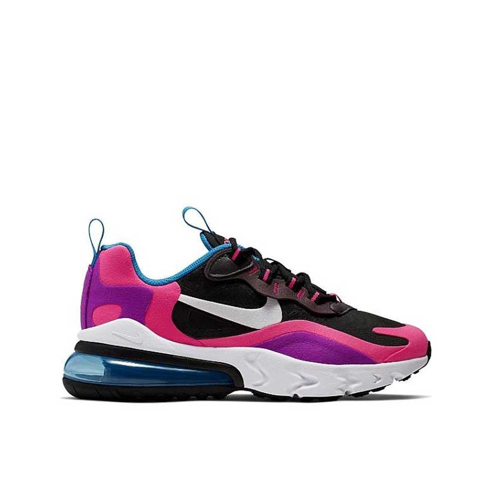 Nike Air Max 270 React Pink Blue da Donna