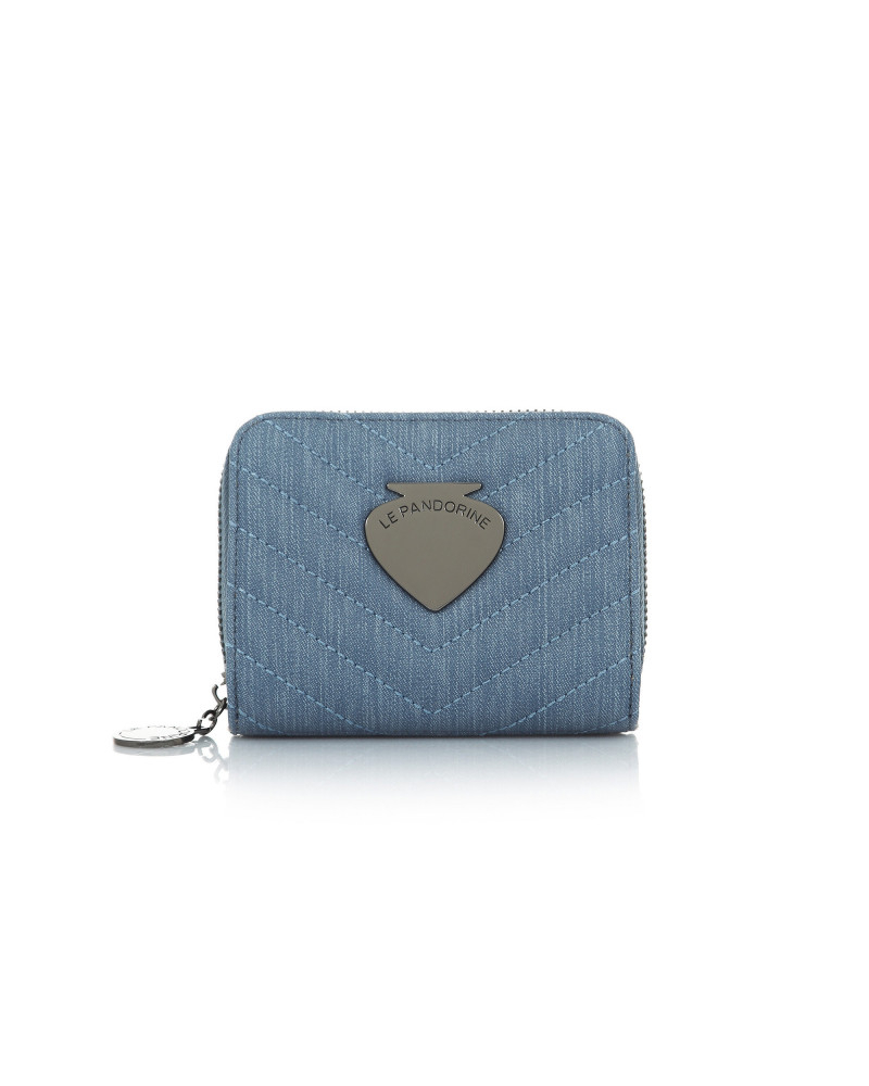 SHOPPING ON LINE LE PANDORINE VICKY WALLET SALUTARE DENIM NEW COLLECTION WOMEN'S SPRING SUMMER 2020