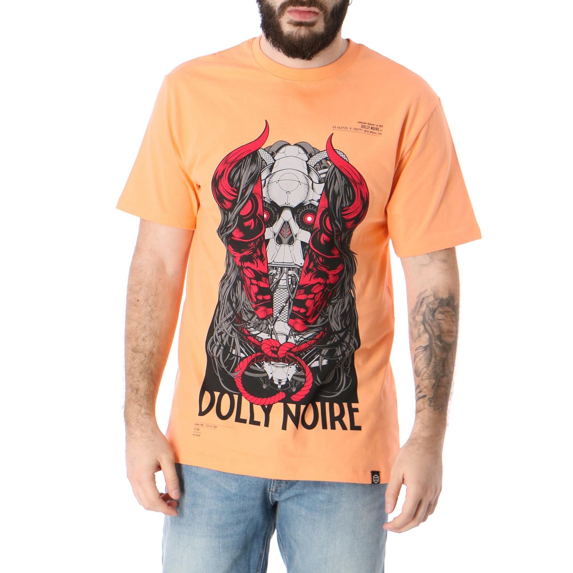 T-Shirt Dolly Noire Oni Mask Vintage