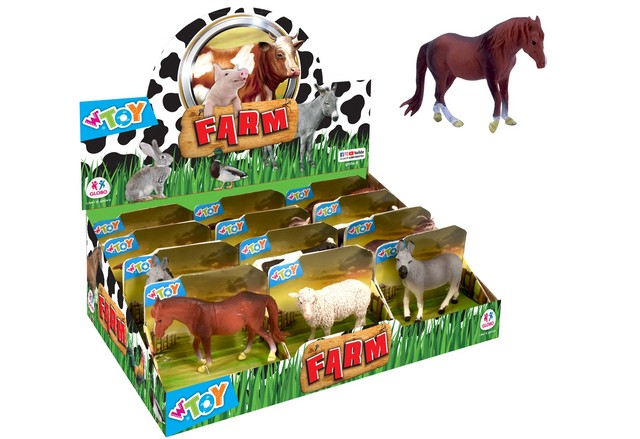 _ANIMALI FATTORIA 6ASS 12PZ D/BOX 39606 GLOBO