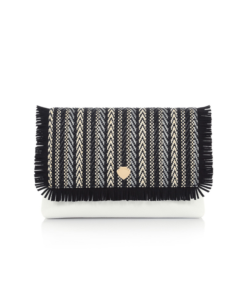 SHOPPING ON LINE LE PANDORINE GUADALUPA POCHETTE AROUND BLACK MULTICOLOR NEW COLLECTION WOMEN'S SPRING SUMMER 2020