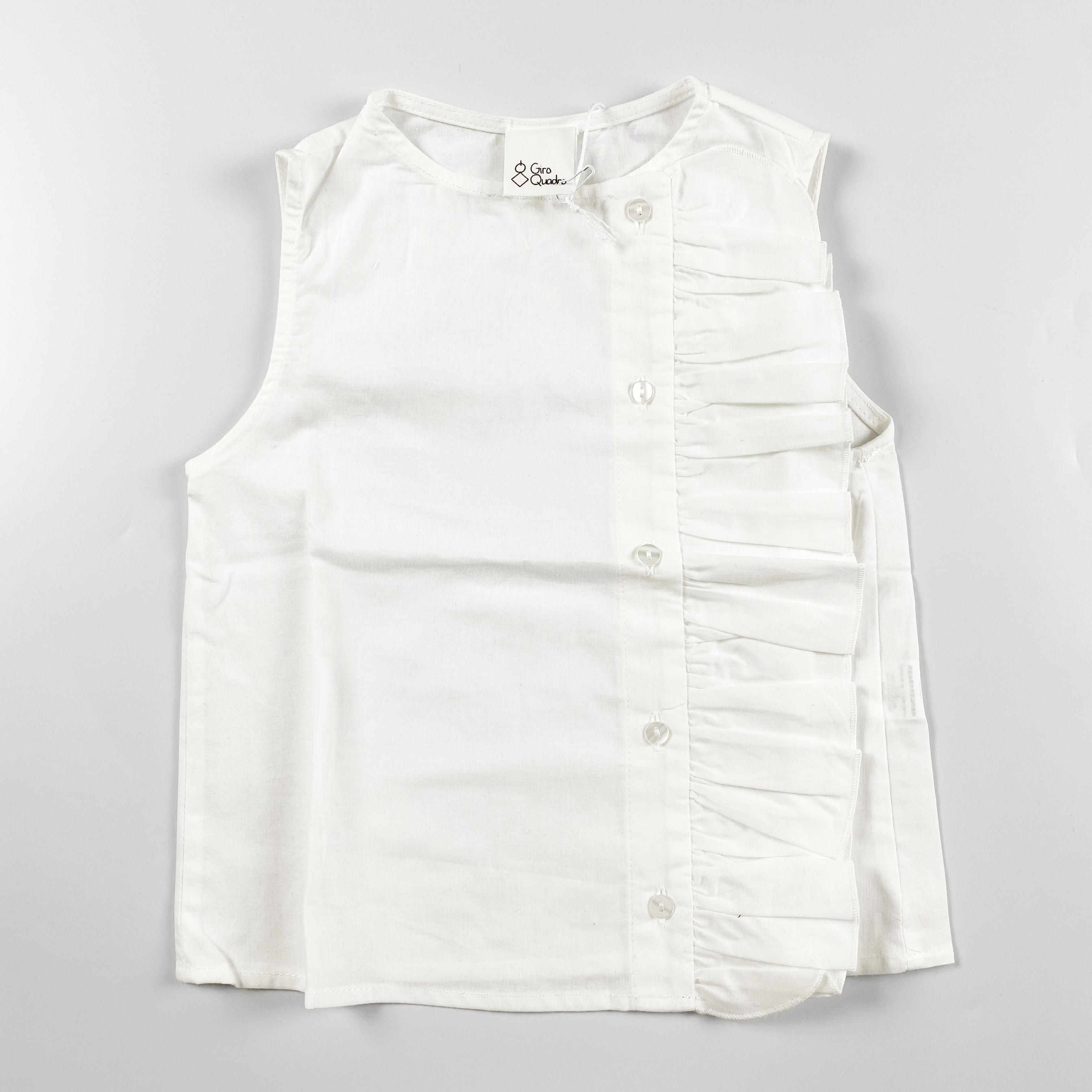 Camicia con ruge laterale