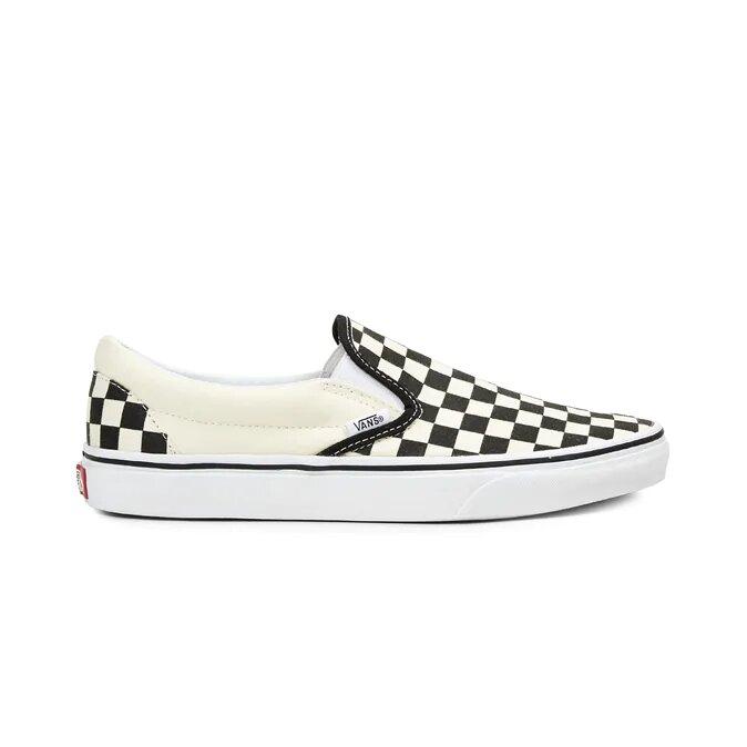 Vans BOY Classic Slip-on Scacchi White