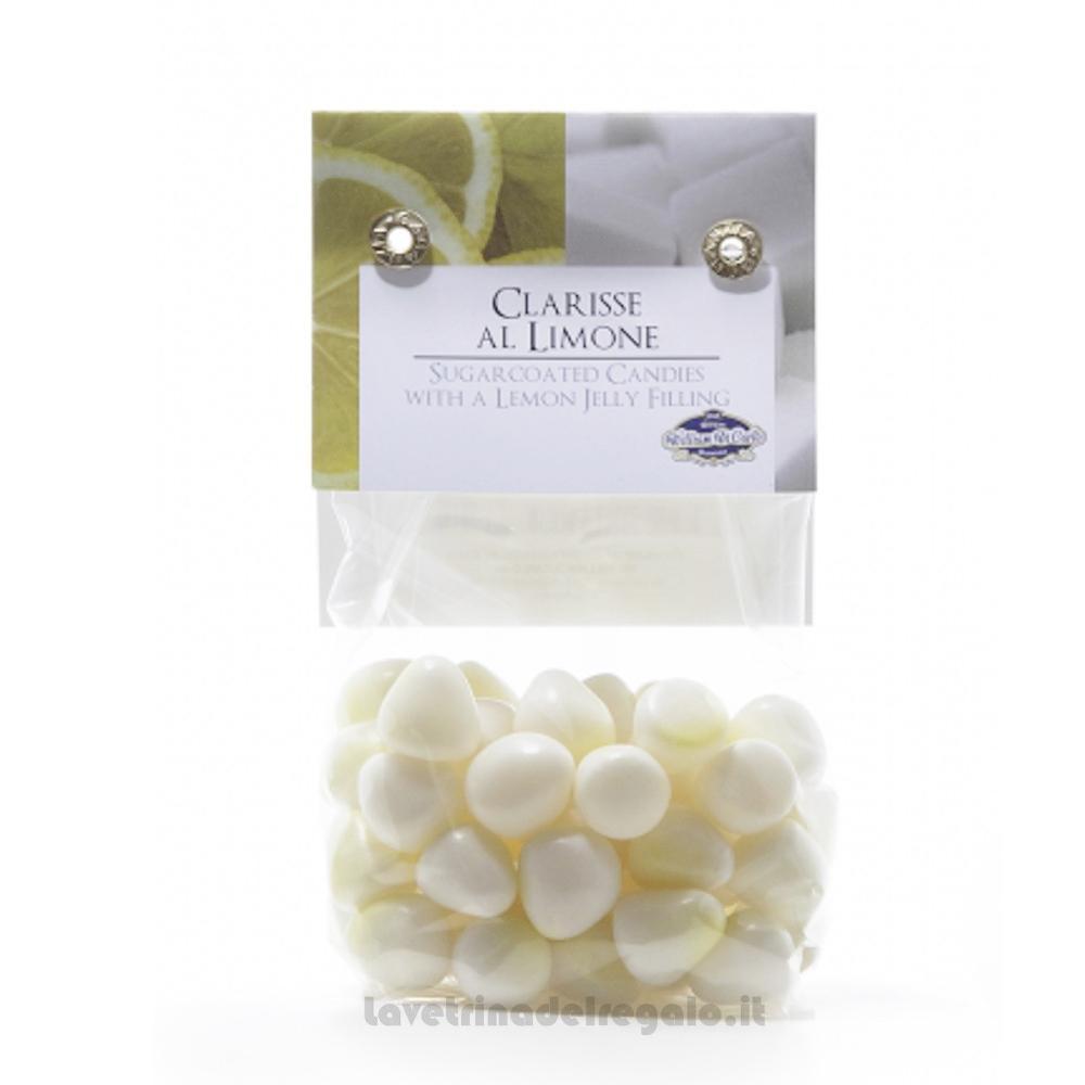Confetti Le Clarisse gelatine gusto limone 150gr William Di Carlo Sulmona - Italy