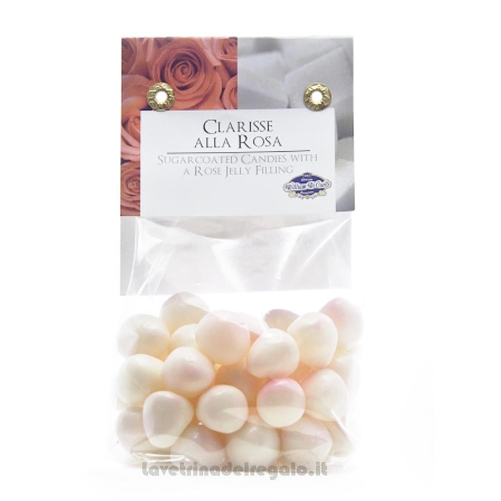 Confetti Le Clarisse gelatine gusto rosa 150gr William Di Carlo Sulmona - Italy