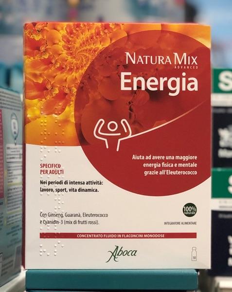 Natura Mix ENERGIA 10 Flaconcini