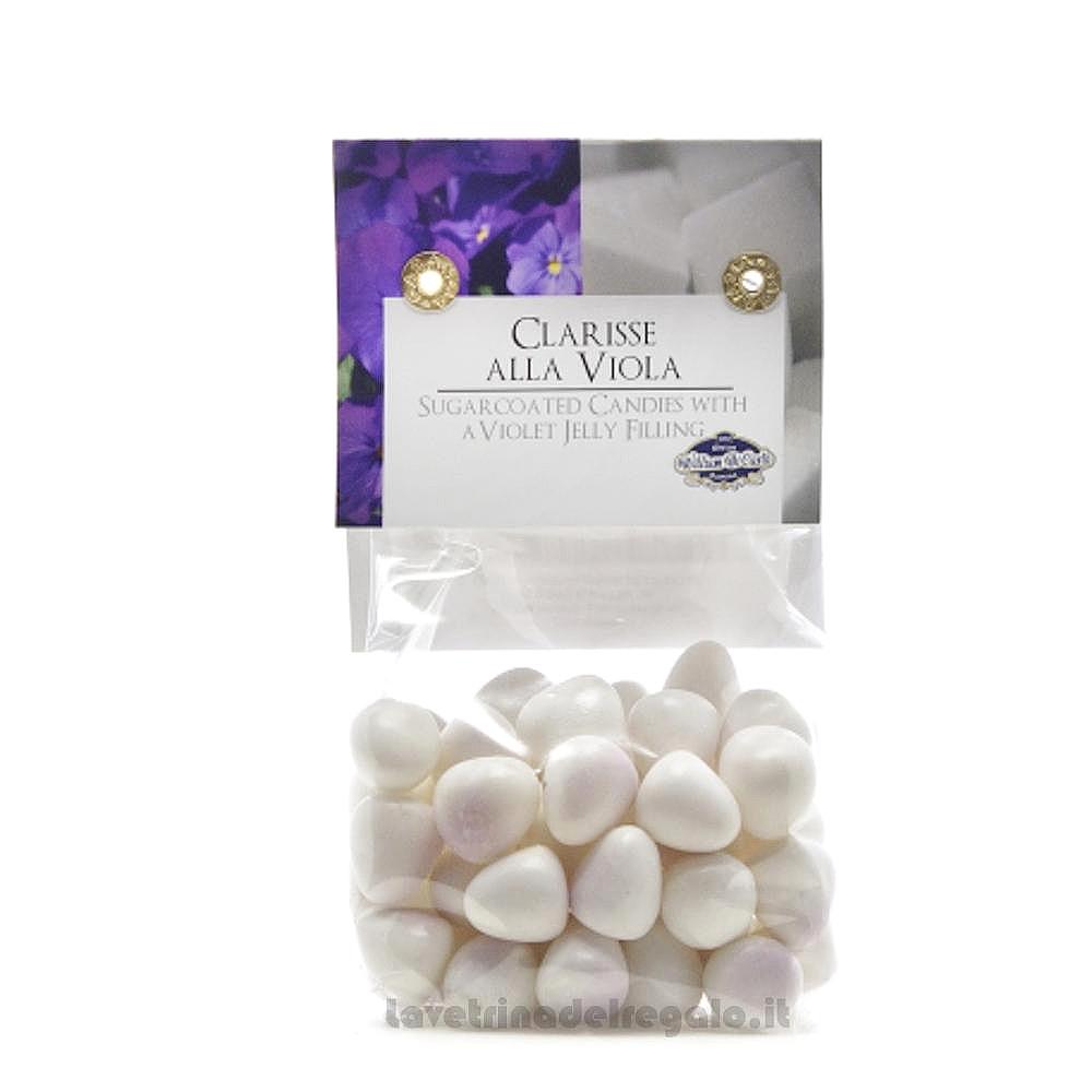 Confetti Le Clarisse gelatine gusto viola 150gr William Di Carlo Sulmona - Italy
