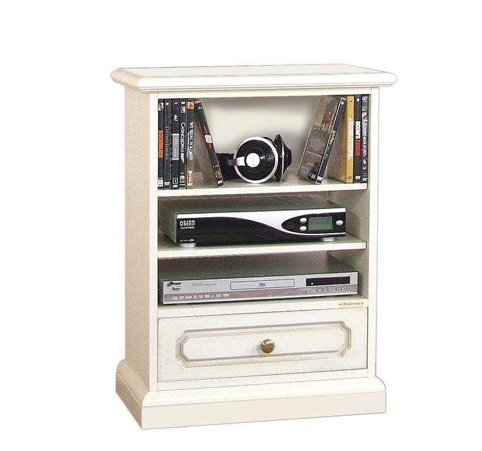 Mueble tv de comedor con estantes y cajón