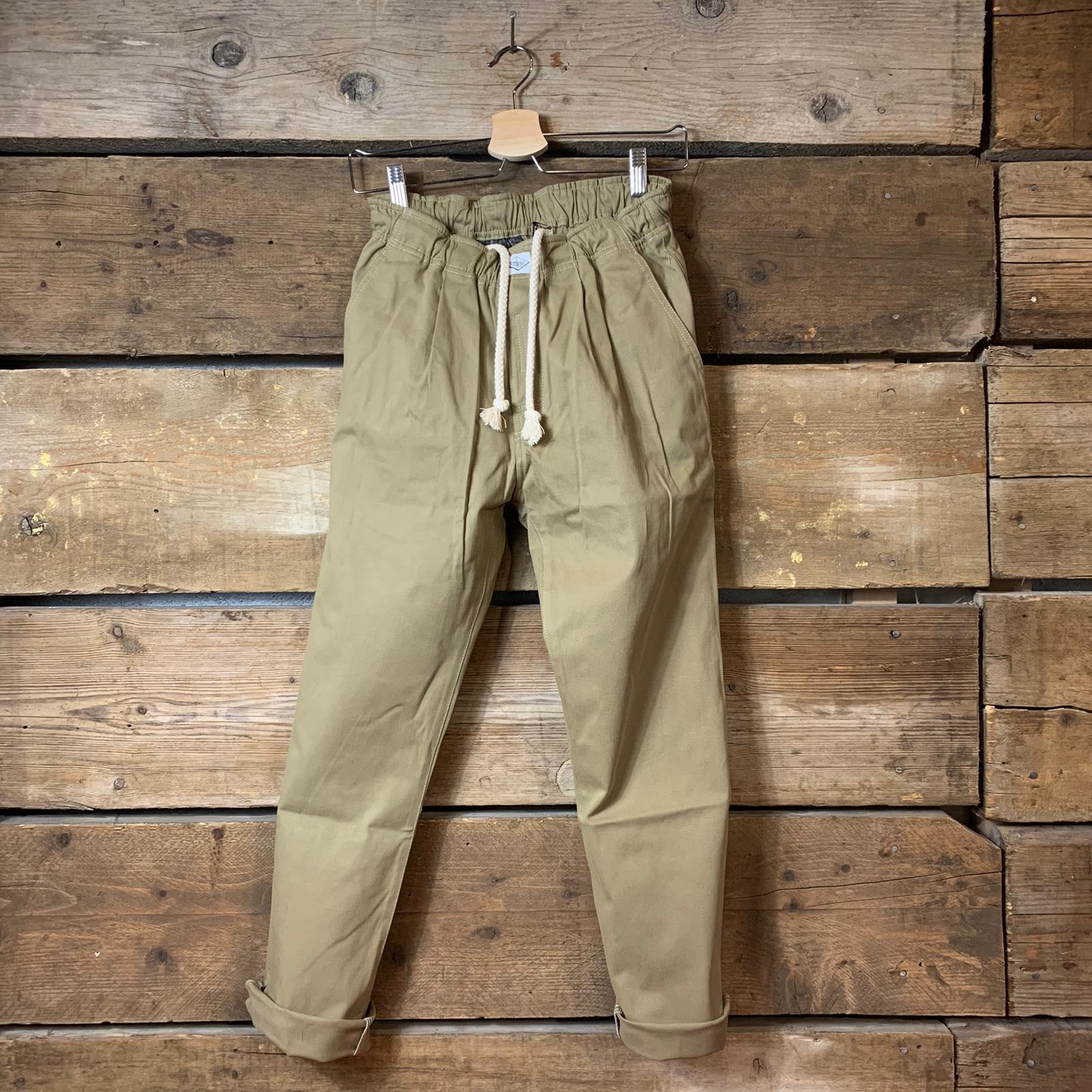 Pantalone Bakery Lowan Gabardine Beige