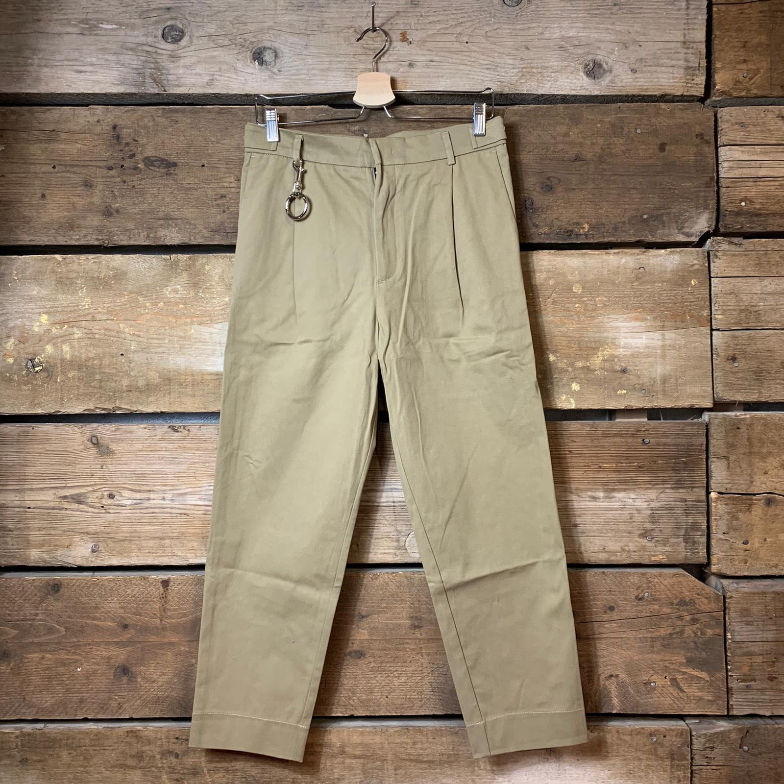 Pantalone Sike Gabardine Beige