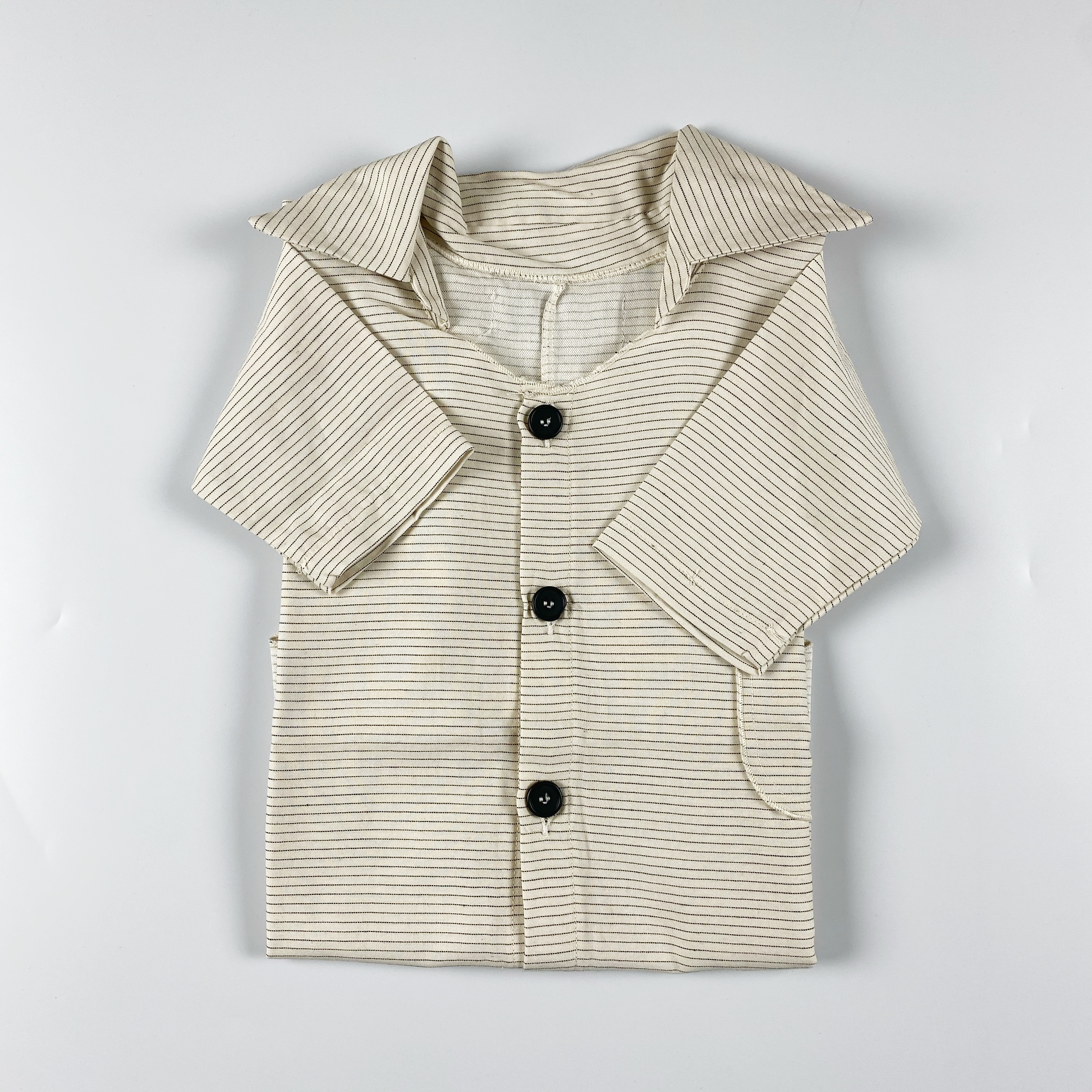 camicia over rigata