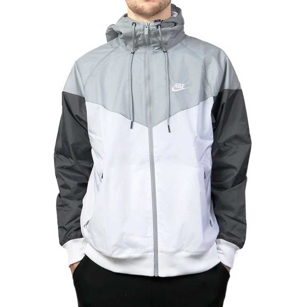 Nike Giacca a Vento White da Uomo