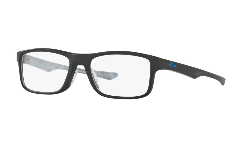 Oakley - Occhiale da Vista Unisex, Plank 2.0, Satin Black   OX8081-0151  C53