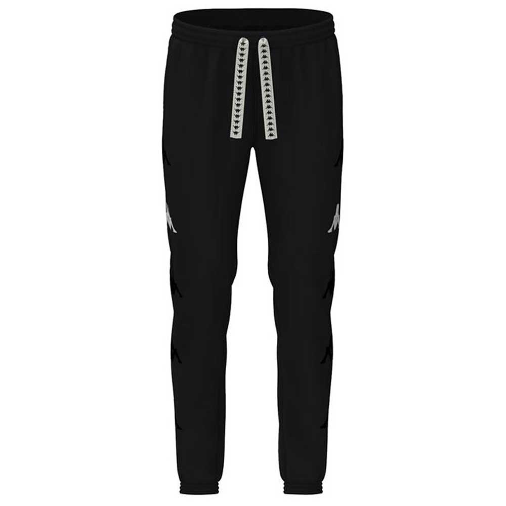 Pantalone Kappa Sand Crumb Black White Unisex
