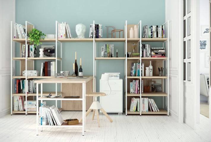 Libreria con penisola Space 07