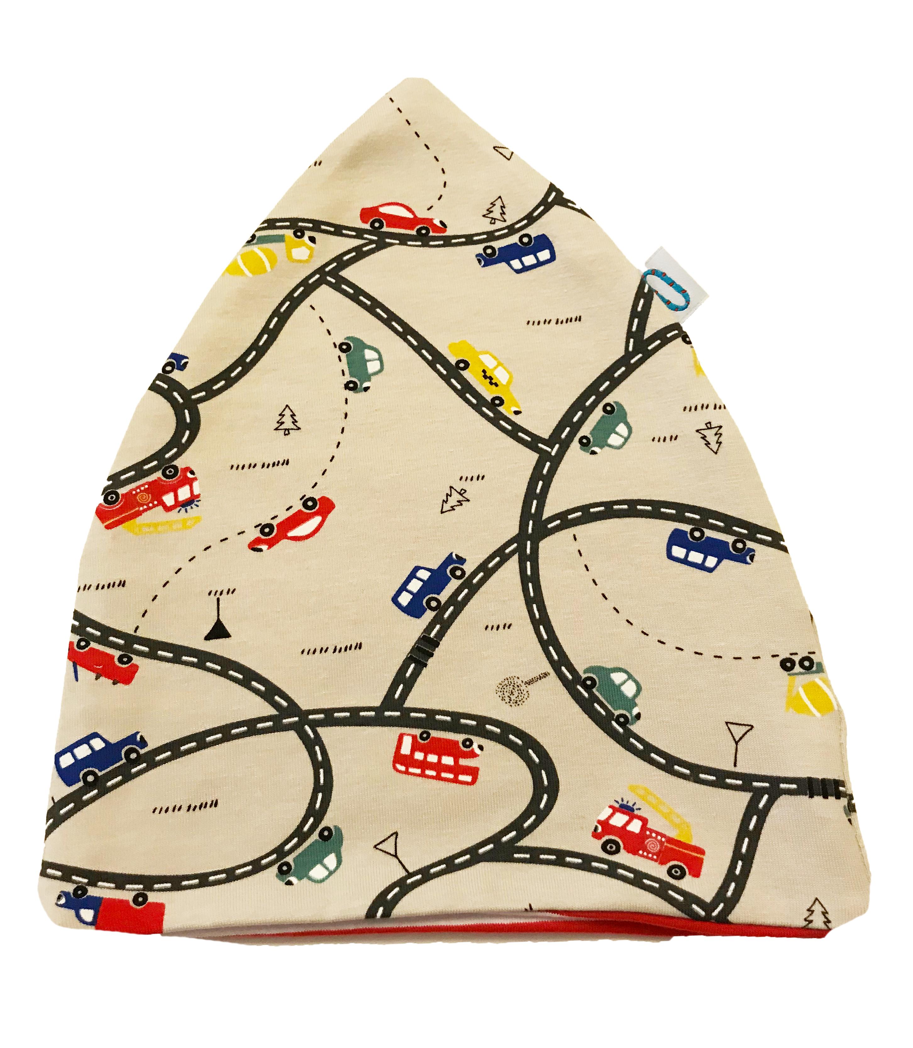 Traffico cappello doppio in cotone