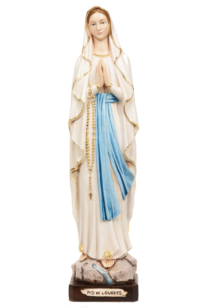 Statua Madonna di Lourdes h 40 PASQ801