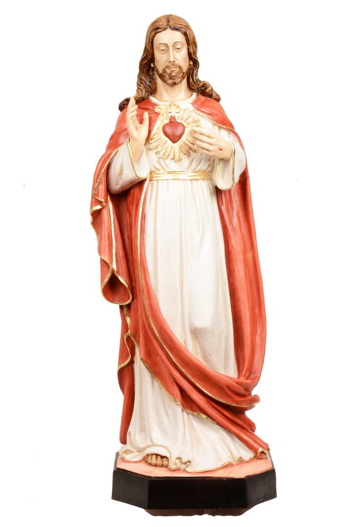 Statua S. Cuore h 80 PASQPA916