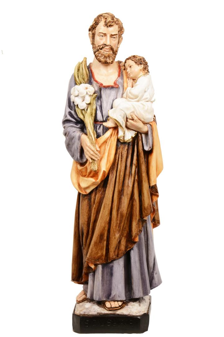 Statua S. Giuseppe h 60 PASQPA612