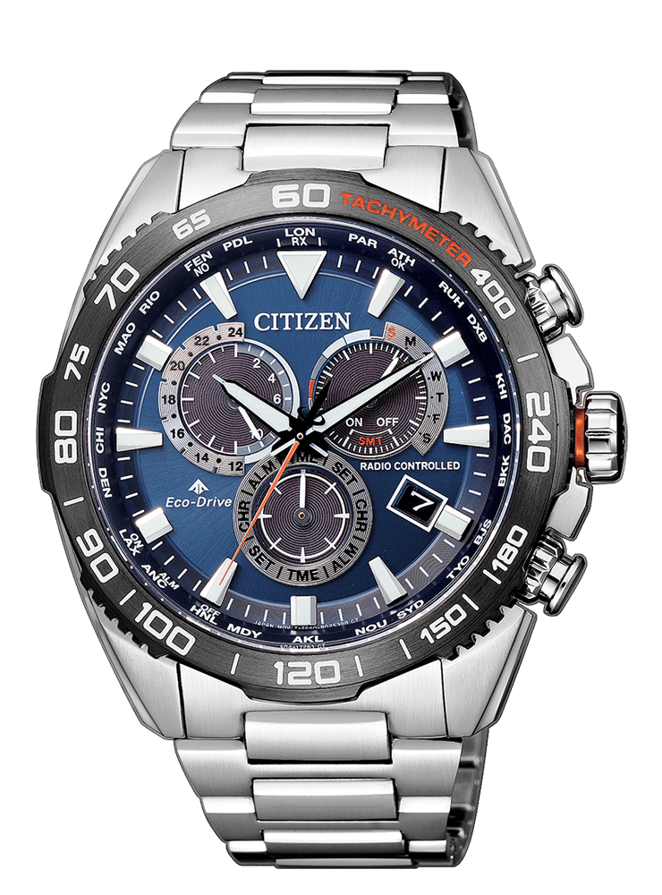 Citizen EcoDrive RadioControllato Land  CB5034-82L