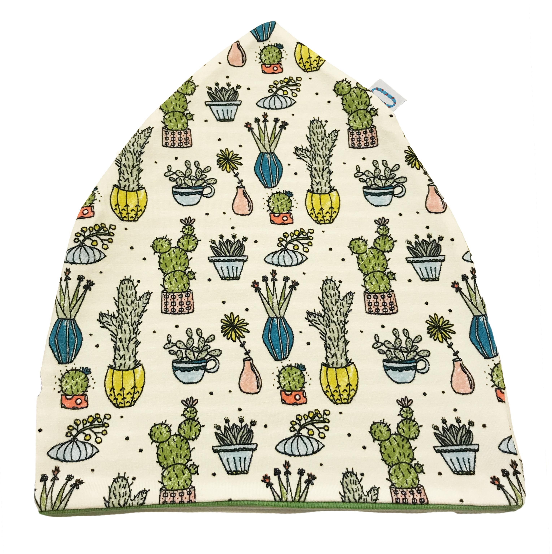 Cactus cuffia verde in cotone