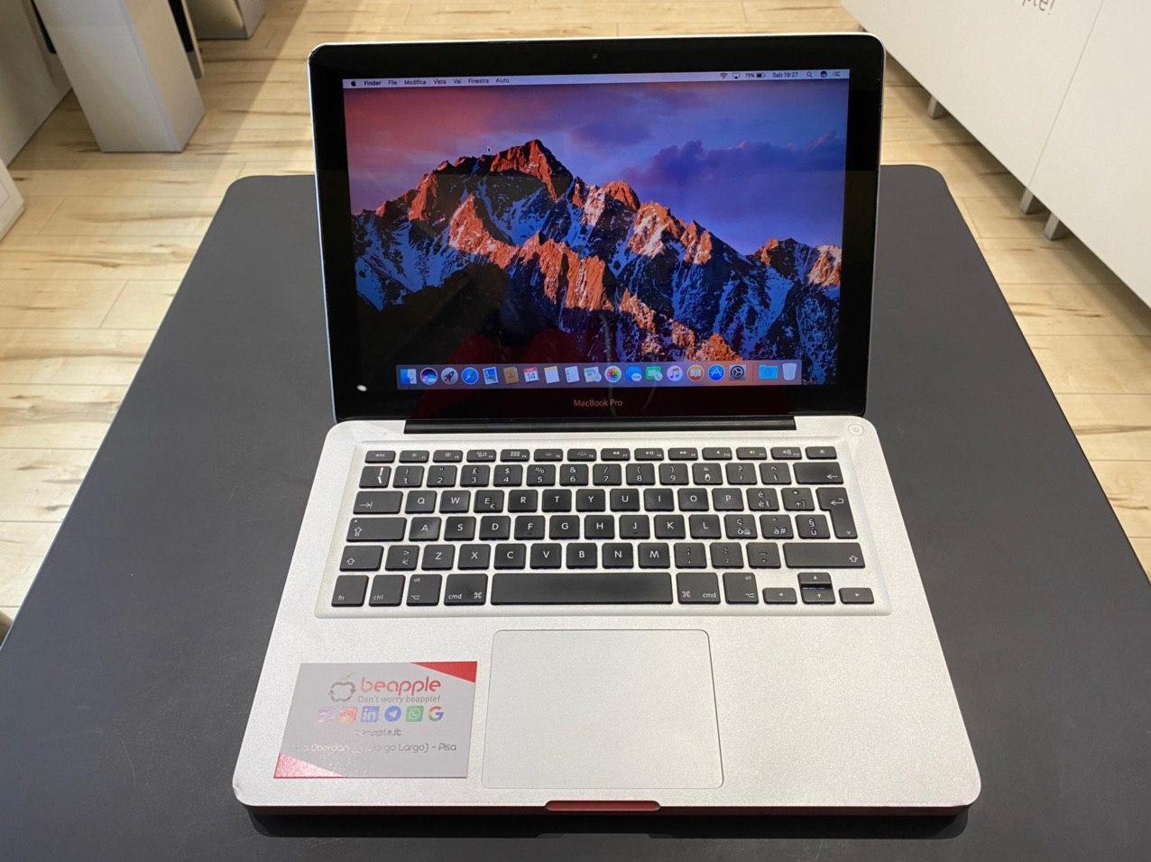 Apple MacBook Pro 13.3″ intel® Dual-Core i7 2.7GHz Early 2011 (Ricondizionato)