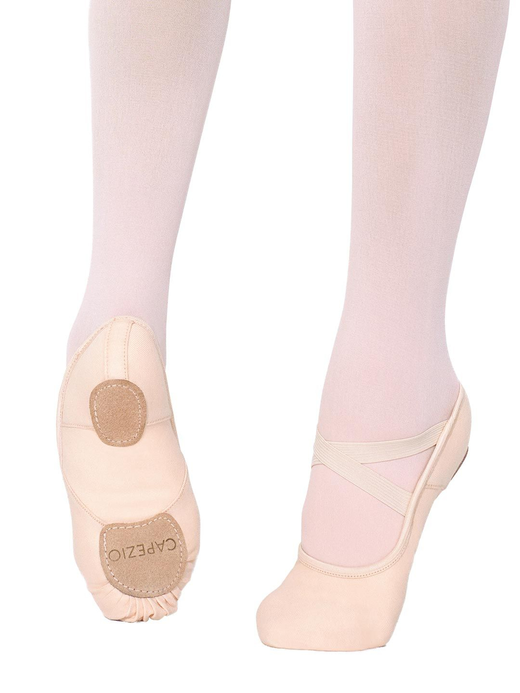 Capezio Hanami - Scarpetta da mezza punta in tela elasticizzata