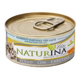 NATURINA ELITÉ GATTO POLLO CON CAROTINE  70 GR