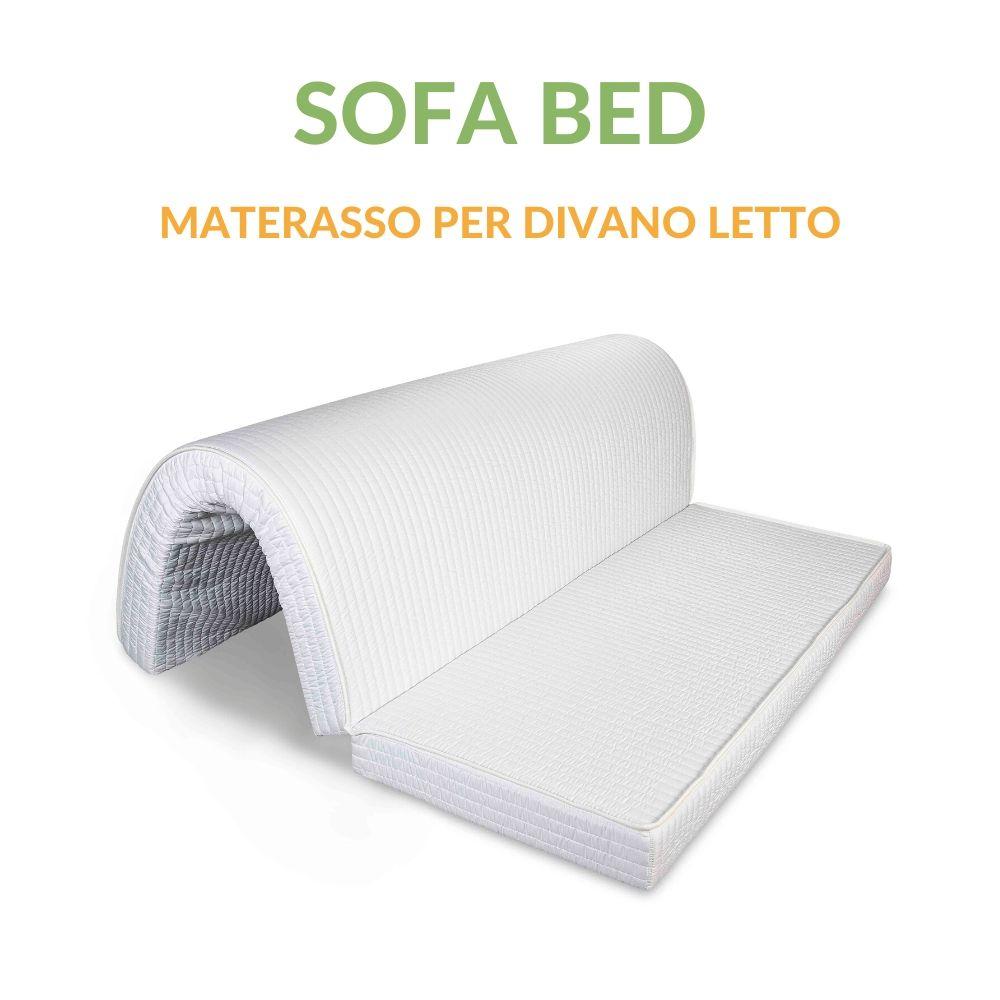 Materasso Per Divano Letto Pieghevole.Materasso Waterfoam Per Divano Letto Pieghevole Alto 10 Cm Sofa Bed