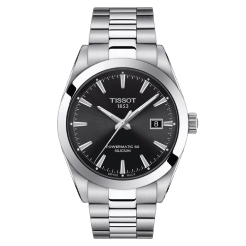 Tissot Gentleman Powermatic 80 Silicum Nero T127.407.11.051.00
