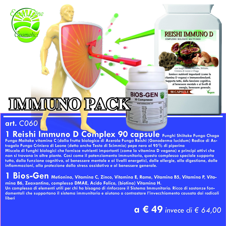 Immuno Pack (Bios-Gen + Reishi Immuno D)