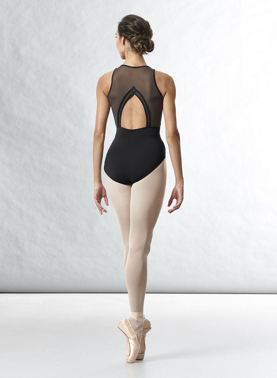 Bloch body collezione  Arrosa con supplex ed inserti mesh sullo scollo